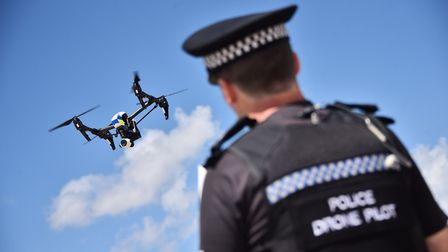 Drones are being used in the fight against rural crime - including hare coursing and illegal metal d