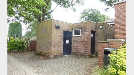 The toilet block which fetched £36,000 at auction with William H Brown. Pic: William H Brown.