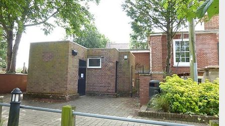 The toilet block in Loddon which fetched £36,000. Pic: William H Brown.