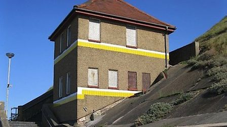 A holiday home in Sheringham converted from a toilet block, originally bought by a builder who gave