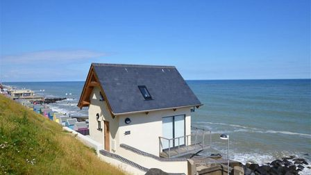 The Wee Retreat, a luxury holiday home converted from a Victorian toilet block. Pic: Norfolk Cottage