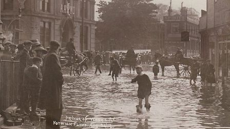 1912 Norwich Floods. Photo: Archant Library.
