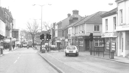 Prince of Wales Road. Dated 28 April 1988. Photograph: Archive