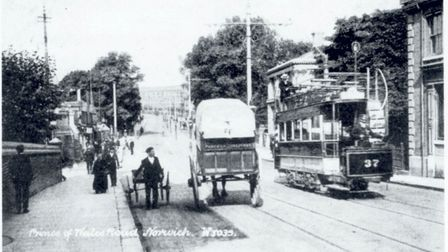Prince of Wales Road in 1906. Photo: Archive