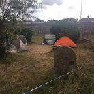 A man has been bailed after a person was stabbed in the chest in a Great Yarmouth churchyard Picture