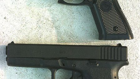 Nearly 100 guns, like the one in this example, were handed over to Norfolk police. Picture: Denise B