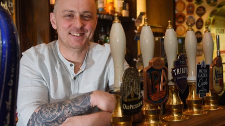Andrew Coe - landlord of the Compleat Angler Picture: DENISE BRADLEY
