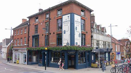 St Andrews Brewhouse in Norwich. Photo: Simon Finlay