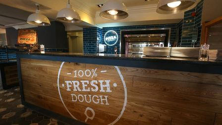 The new look Town House serves freshly baked pizzas alongside the traditional carvery option and bre