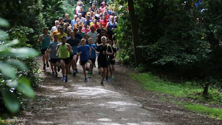 Sheringham parkrun. Picture: Ally McGilvray