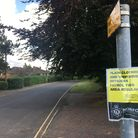 Two properties on Colney Lane in Cringleford were targeted. Photo: Archant