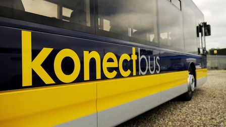 A stock picture of a Konectbus vehicle. Picture: IAN BURT