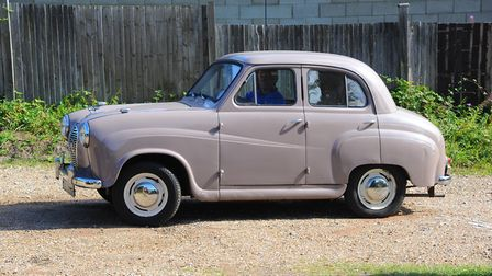 Paul Barnes passed his test in an Austin A30 like this one 60 years ago this week