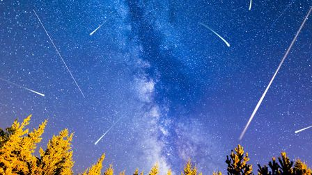 The Perseid meteor shower peaks in August. Photo: Getty Images/iStockphoto