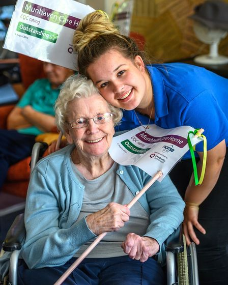 Norse Care Munhaven Care Home, Mundesley that has been rated outstanding by the Quality Care Commiss