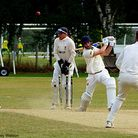 Ashley Watson claims another victim as Max Richardson is bowled Picture: TIM FERLEY