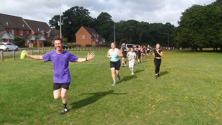 Thetford parkrun on Saturday 10th August 2019. Picture: Graham Wade