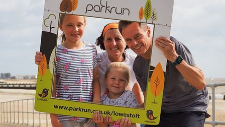 Lowestoft parkrun on Saturday 10th August 2019. Picture: Gary Pembroke