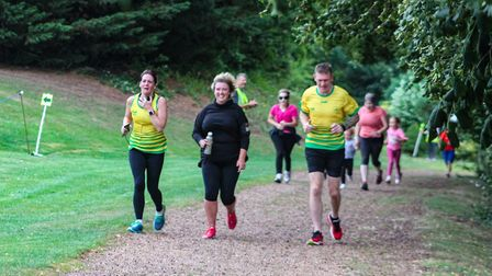 Loch Neaton parkrun on Saturday 10th August 2019. Picture: Hayley Yates