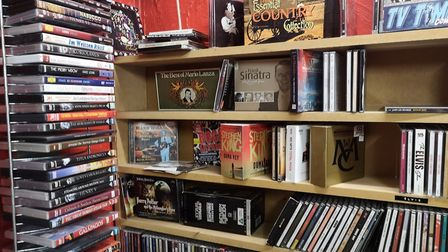 The Movie Shop has attracted celebrity customers in the past including Jools Holland. Picture: Ruth