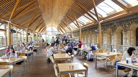 Norwich Cathedral Refectory Cafe. Picture: SUPPLIED