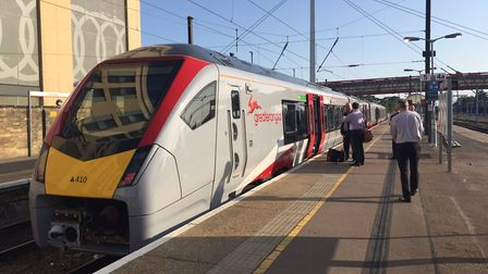 Greater Anglia's brand new trains have been on their first outing on the Norwich to Cambridge route.