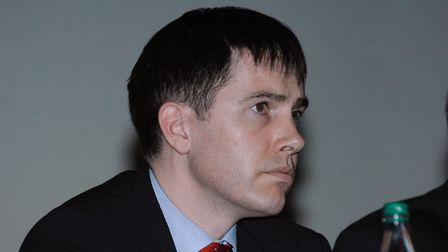 Joel Hull, head of waste at Norfolk County Council. Picture: Colin Finch
