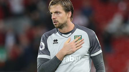 Norwich City keeper Tim Krul faces old club Newcastle United for the first time this weekend Picture
