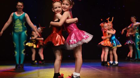Students performing at the Norwich theatre. Picture: Sam Markwell Photography