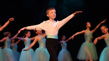 Students of the Dance Factory performing. Picture: Sam Markwell Photography