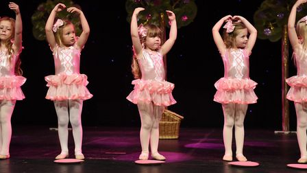 Student's performing at the Norwich theatre. Picture: Sam Markwell Photography