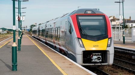 Commuters using Greater Anglia's new bi-mode trains could see prices rise 2.8% in January 2020. Phot