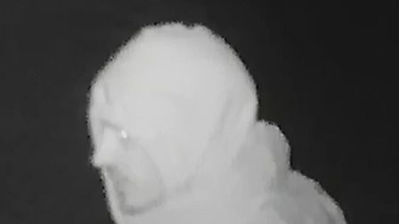 Police are appealing for help to identify a man following a burglary in Brazen Gate. Photo: Norfolk