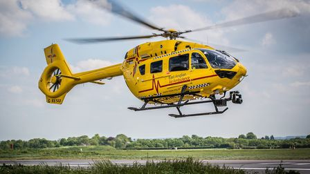 The air ambulance was called to Victoria Road, Diss. Photo: Perfect Pose Photography/EAAA