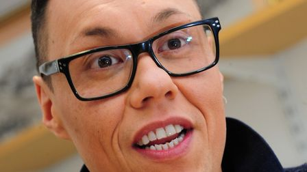 Gok Wan who is returning for the new series of Say Yes To The Dress. Picture Simon Finlay.
