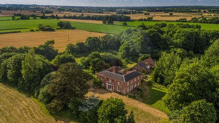 Reymerston Hall. Photo: Courtesy of Auction House East Anglia.