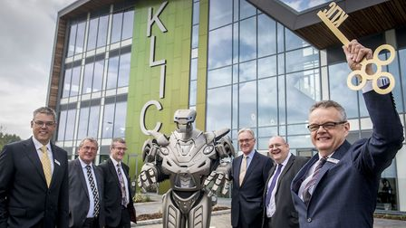 The opening of the KLIC building in 2016. Picture: Matthew Usher