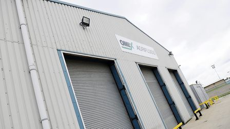 Omex Agrifluids Plant in King's Lynn, on the Saddlebow Industrial Estate. PHOTO: Matthew Usher