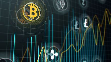 Detectives say organised crime groups are increasingly using cryptocurrency like Bitcoin. Picture: T