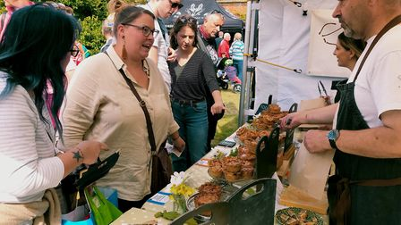 The North Norfolk Food and Drink Festival at Holkham Hall 2019. Picture: NEIL PERRY