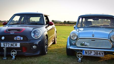 Norfolk Mini Owners Club celebrated its 60th anniversary by touring around Norfolk. Picture: NMOC