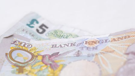 The old £5 and £10 still around despite being phased out. Picture: Getty Images