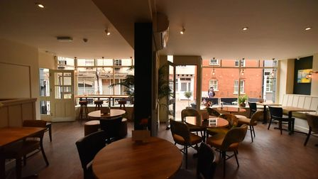 The Last Bar, Brasserie and Cellar on St Georges Street, Norwich. Picture: Jamie Honeywood