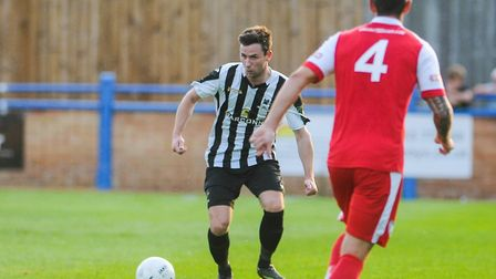 Jake Imrie, one of Dereham Town's summer signings Picture: Ian Burt