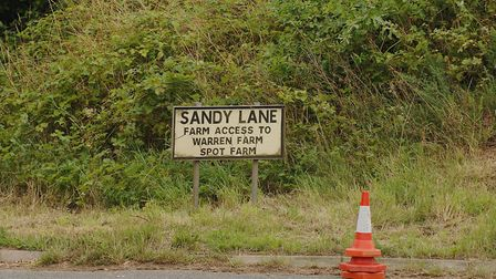 A man died in a collision close to the junction with Sandy Lane Picture: Chris Bishop