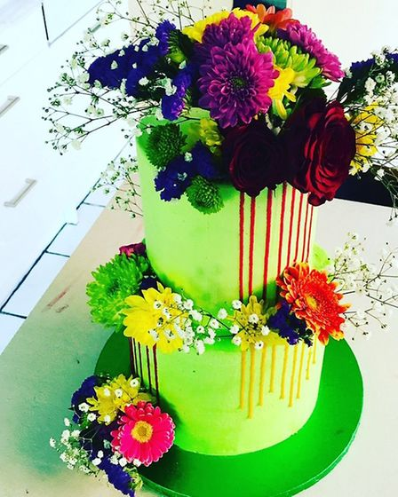 One of Polly Guy's fantastic cake creations. Pic: contributed