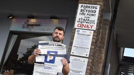 Stuart Rogers was fined £2000 but claims he 'did not use the car park'. Photo: Matthew Nixon