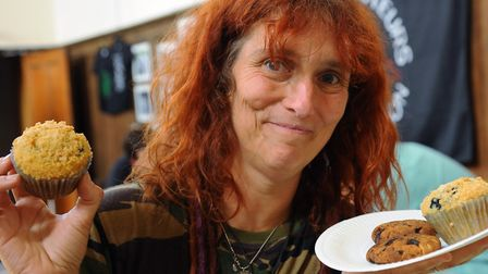 Penny Franiel, founder and chairwoman of Norwich vegans