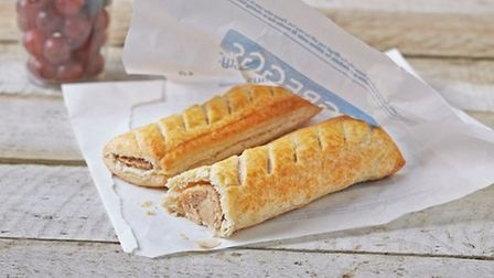 Greggs' vegan sausage roll which was in such demand back in January that the store sold out by lunch