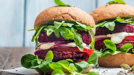 A meat-free burger. Pic: Archant library